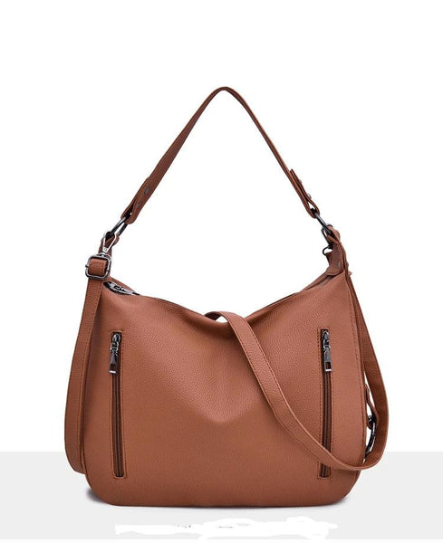 Nergis PU leather satchel handbag