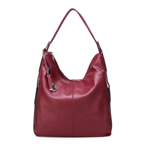 Denice PU leather hobo handbag