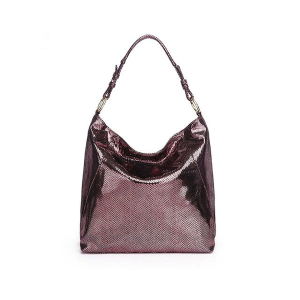 Zoie PU leather hobo handbag
