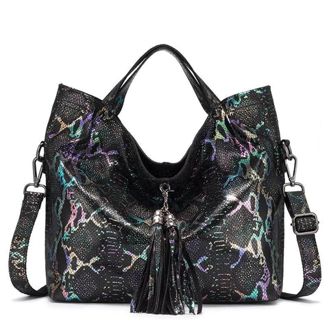 Berta genuine leather hobo handbag