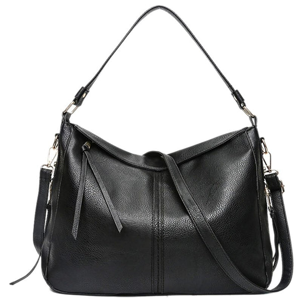 Thana PU leather hobo handbag