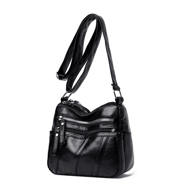 Rifki PU leather hobo handbag