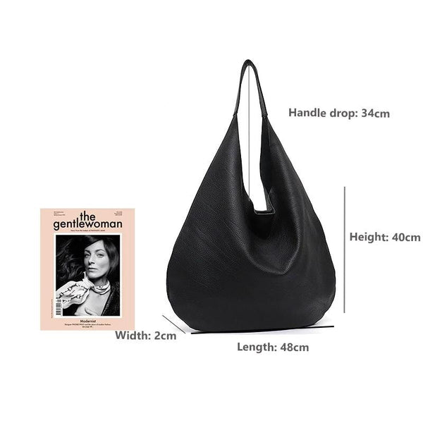 Giulia PU leather hobo handbag
