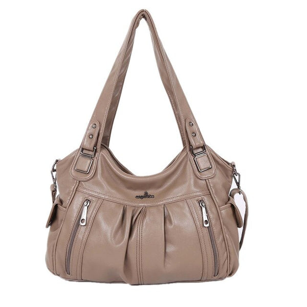 Beverly PU leather hobo handbag