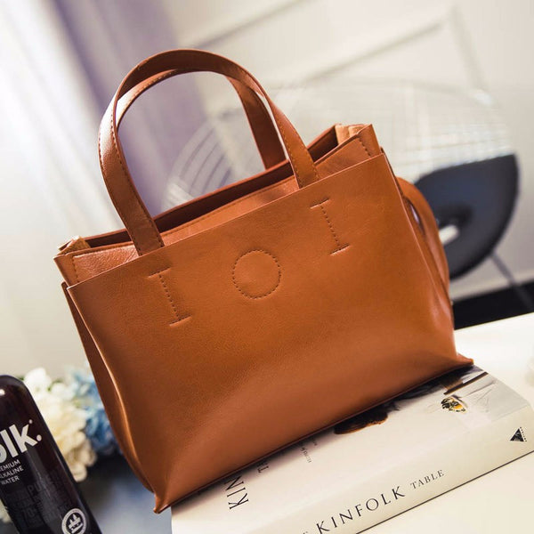 Laima PU leather shoulder bag