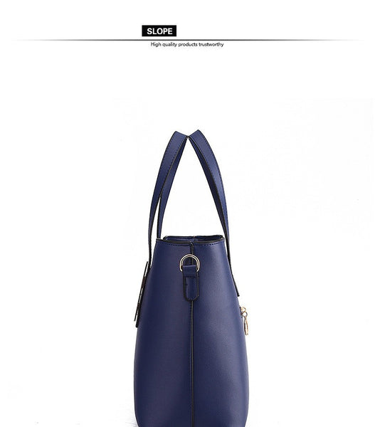 Queralt PU leather shoulder bag