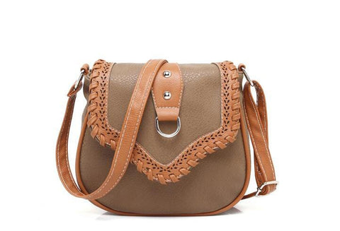 Caoilean PU leather cross-body bag