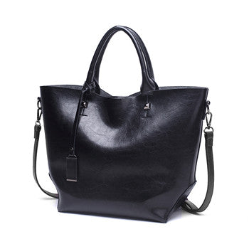 Zara PU leather handbag