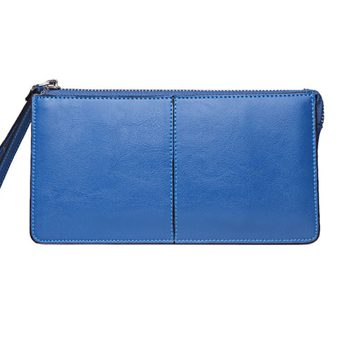 Jo genuine leather day clutch