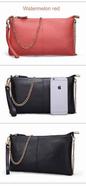 Whetu genuine leather shoulder bag