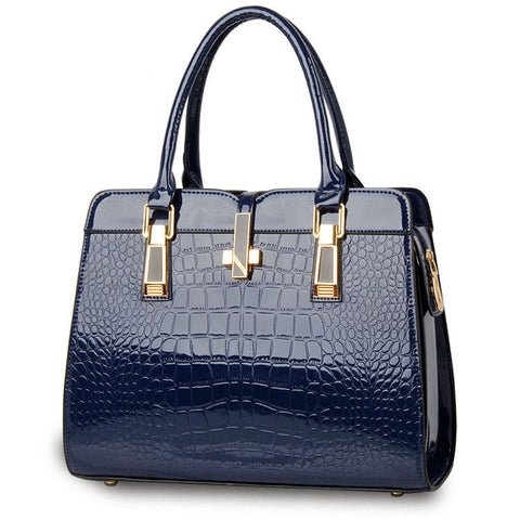 Jagga PU leather tote bag