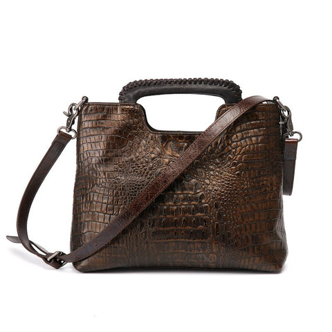 Kat genuine leather shoulder bag