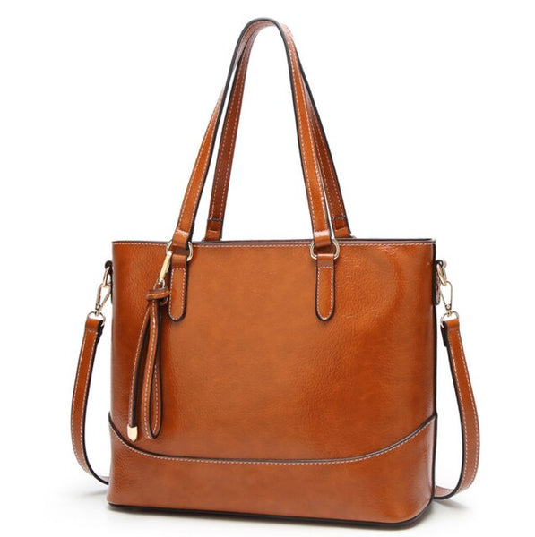 Layla PU leather shoulder bag