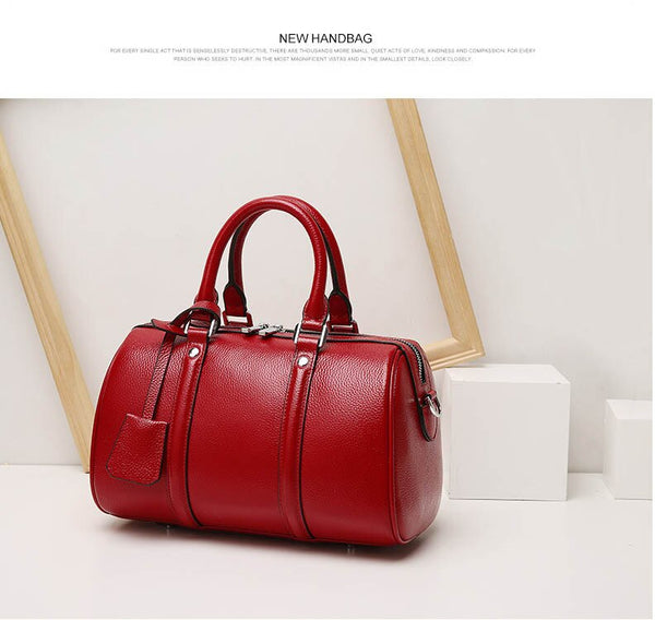 Marcela genuine leather tote bag