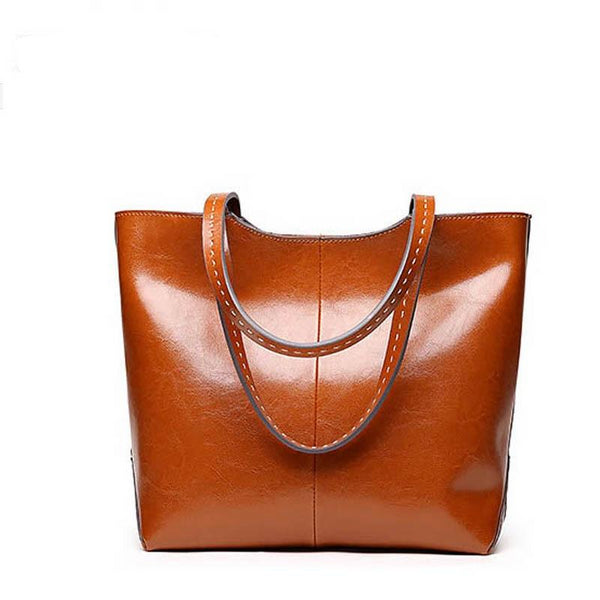 Kashi genuine leather tote bag
