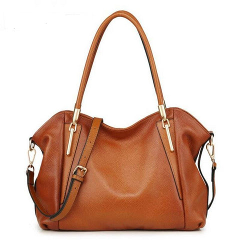 Inga genuine leather tote bag