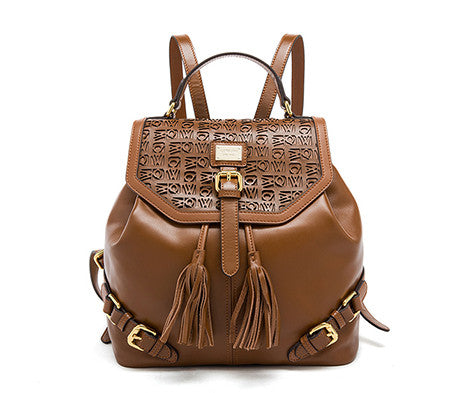 Upasana genuine leather backpack