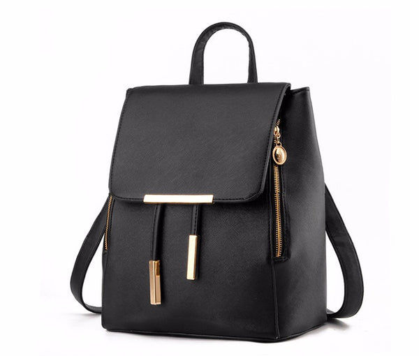 Yahzu PU leather backpack