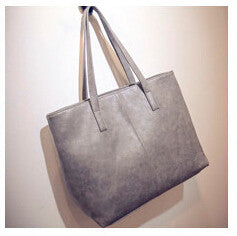 Camelia PU leather tote bag