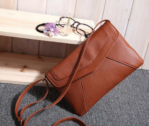 Walbur PU leather shoulder bag