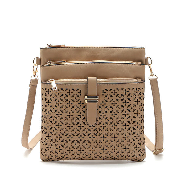 Hai PU leather cross-body bag