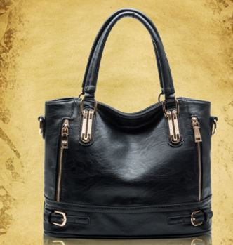 Madara split leather tote bag