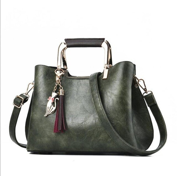Patty PU leather shoulder bag