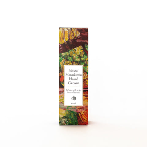 All Natural Macadamia & Seaweed Hand Cream Duck Creek Body