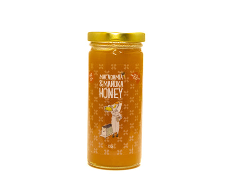 Macadamia and manuka honey
