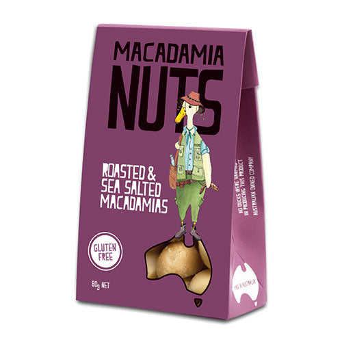 Macadamia Nuts | Roasted & Sea Salted