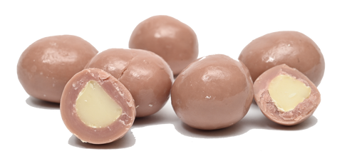 Macadamia Nuts | Belgian Ruby Chocolate Covered | Share Packs Duck Creek Macadamia