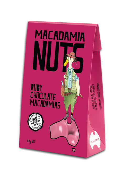 Ruby Chocolate Macadamias