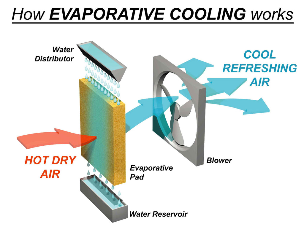 3 Health Benefits of Servicing Your Evaporative Air Conditioner
