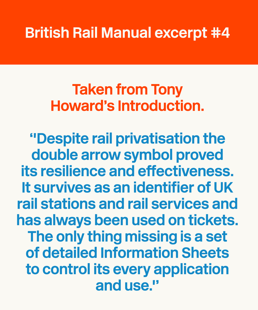 British Rail Manual Excerpt