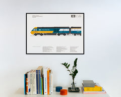 Inter-City 125 Poster – Sheet No. 4/19 - British Rail Corporate Identity Manual