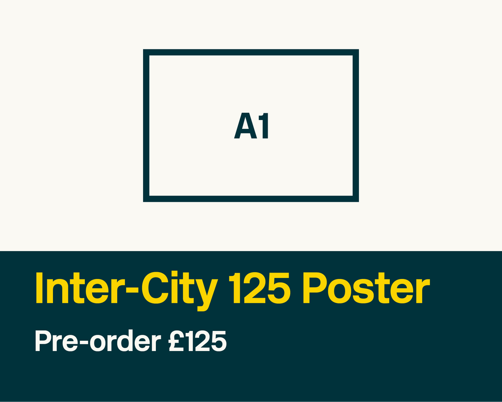 Inter-City 125 Poster – Sheet No. 4/19
