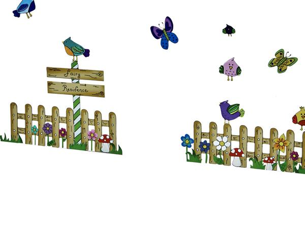 Wall Art - Picket Fence