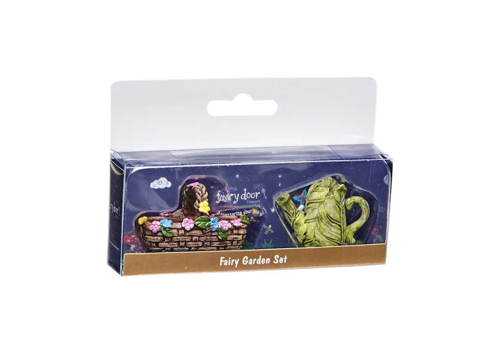 Fairy Watering Can and Basket