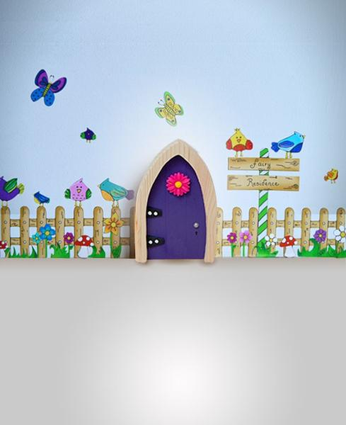Fairy Door - Purple Arch