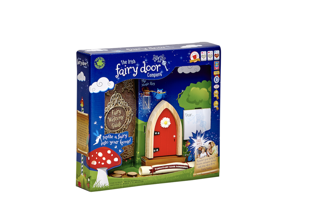 Fairy Door Red Arched