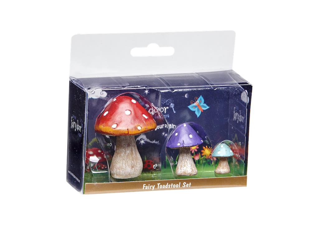 Fairy Toadstool Set