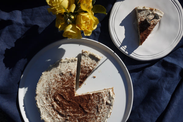 Gluten, dairy and refined sugar free raw banoffee pie