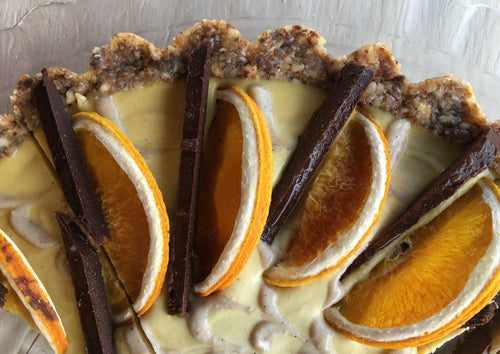 Jaffa Tart - Orange & Chocolate Mousse