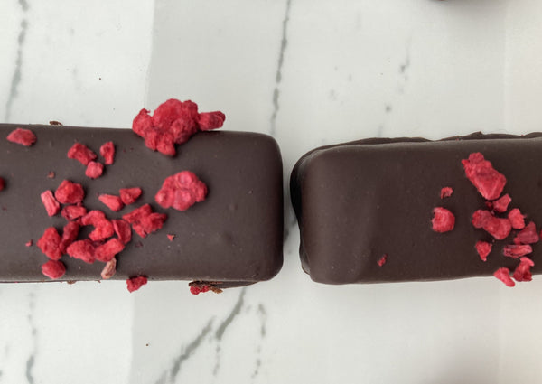 Raspberry Vanilla Chocolate Bar
