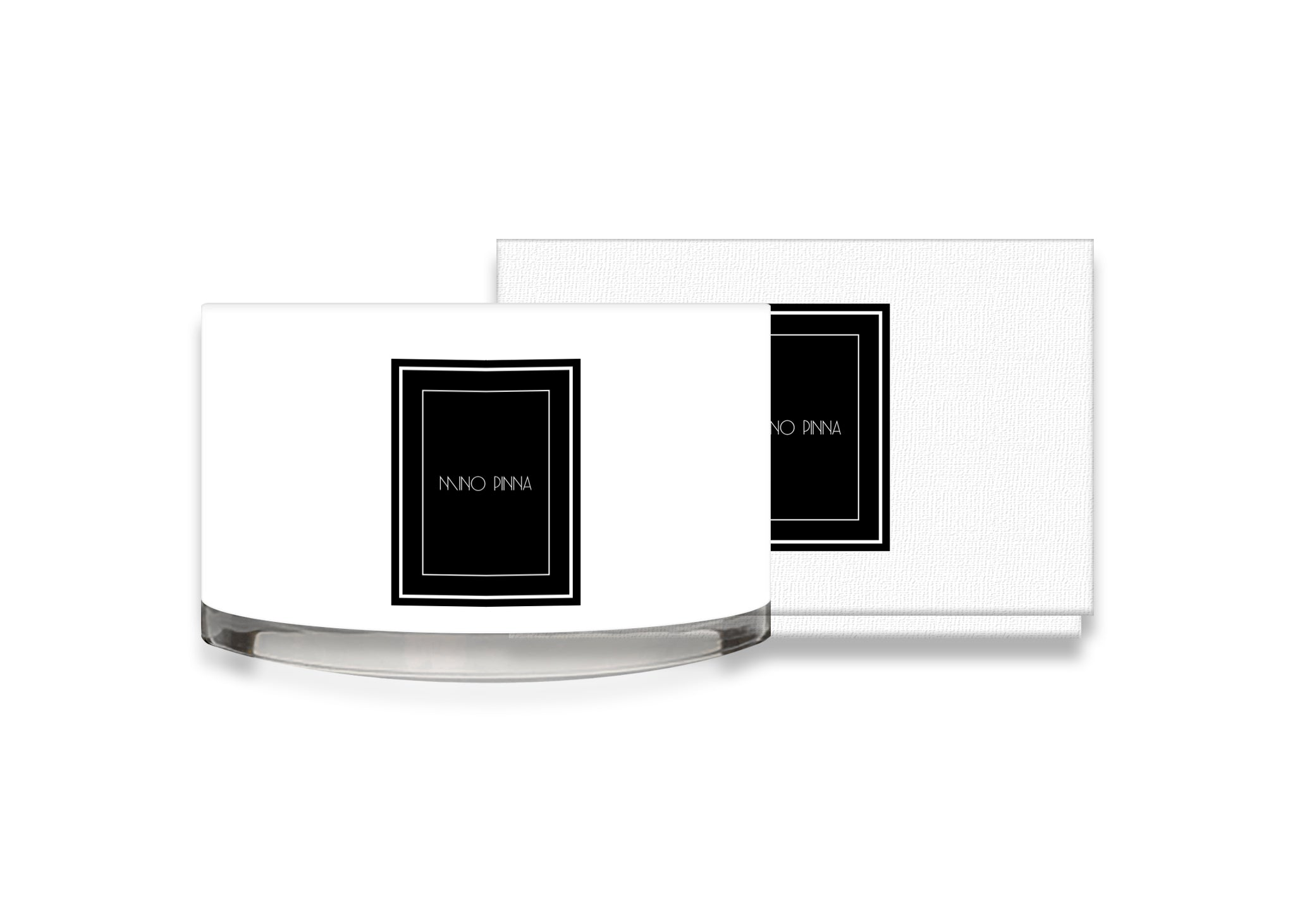angelica luxury candles with white box
