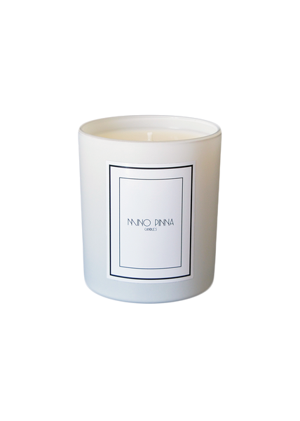 cinnamon & pine luxury candles