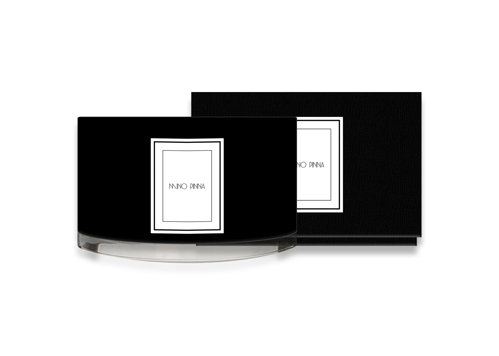 patchouli and vetiver luxury candles with black box