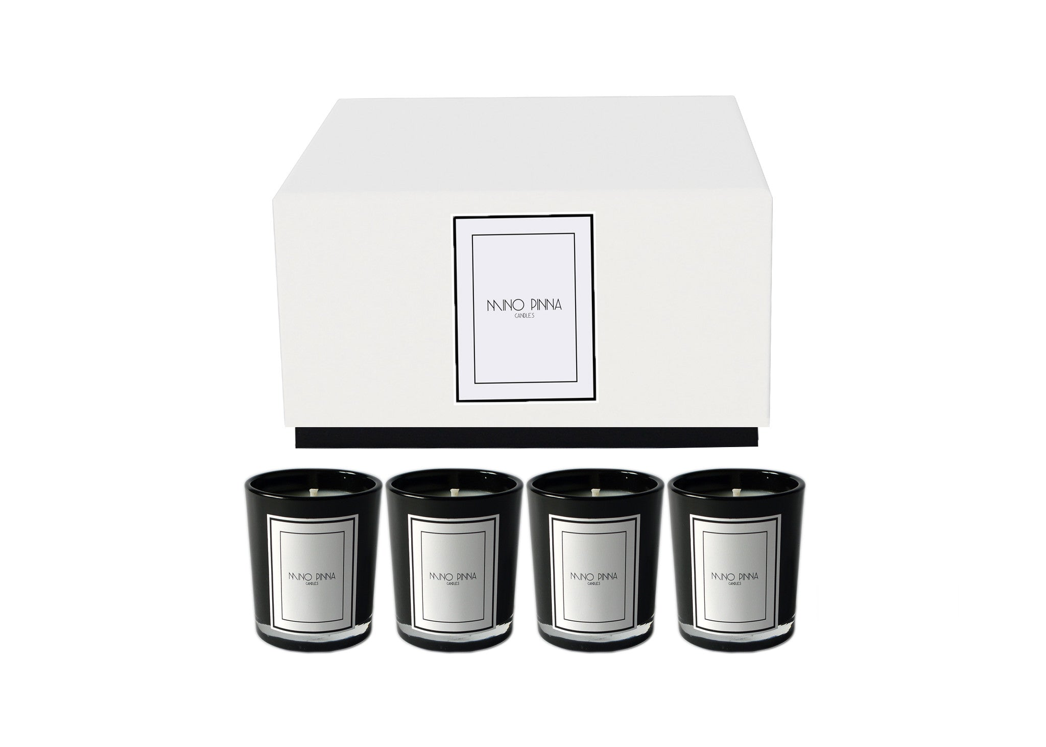 Box Set of 4 Mini Candles - Revive - scented candles