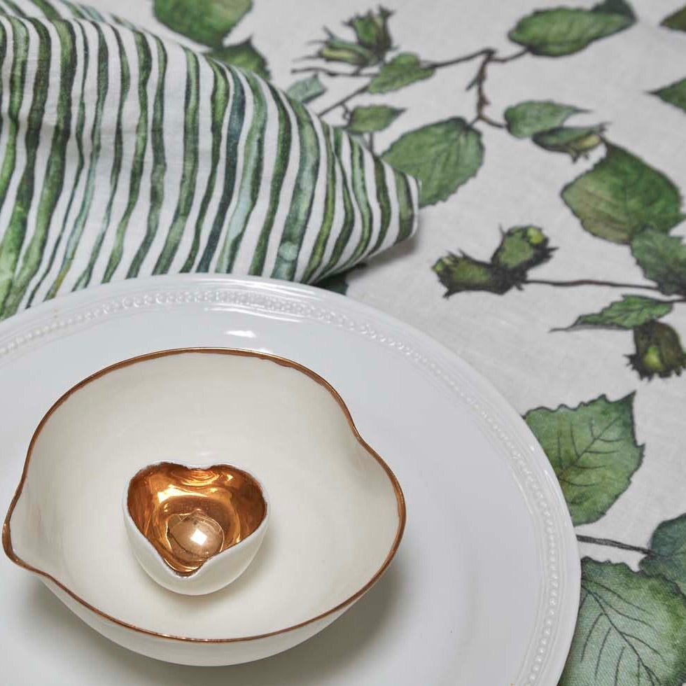Cobnut Linen Table Cloth