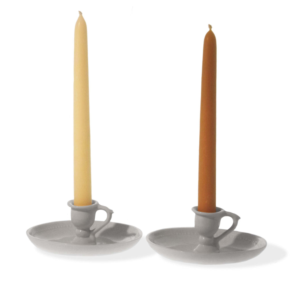 Pair of Beeswax Candles